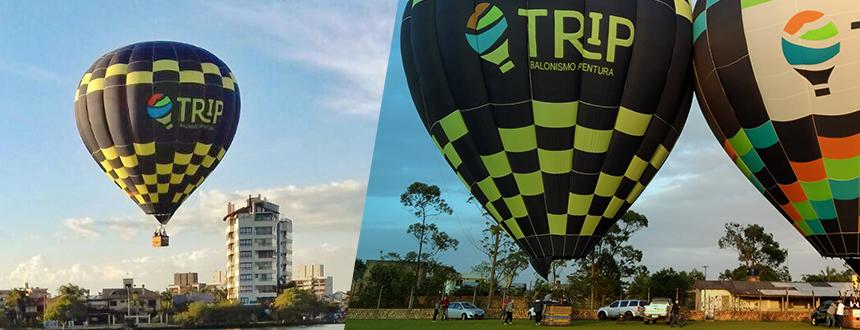 Festival de Balonismo em Torres RS