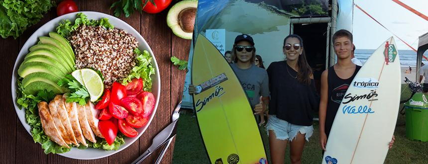 Nutrição para Surfistas - Torres RS